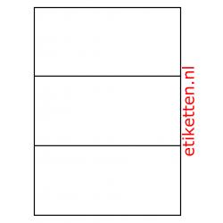 210 x 98 mm 1.000 vellen per doos 3 etiketten per vel DHL Common-Label