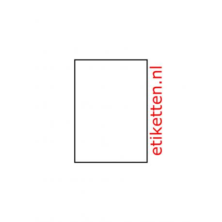 105 x 148 mm 400 vel p.doos verzend-etiket op A6 velletjes