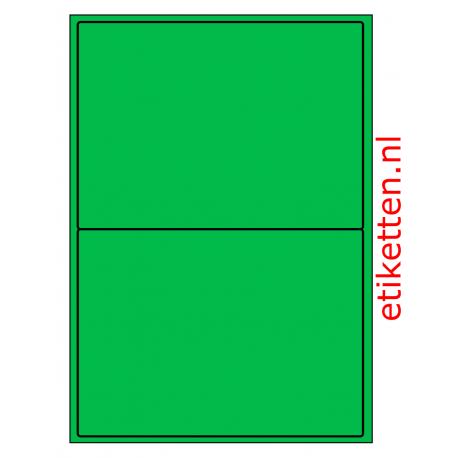 199 x 143 mm 100 vel p.doos GROEN