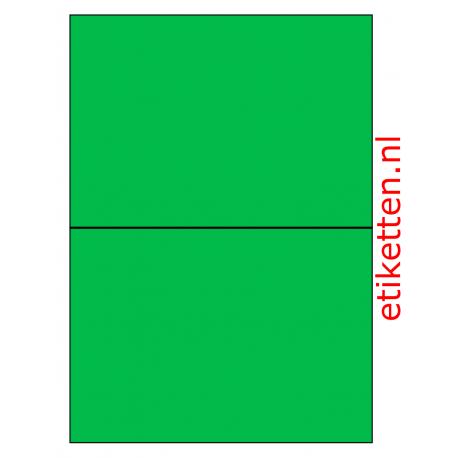 210 x 148 mm 100 vel p.doos GROEN