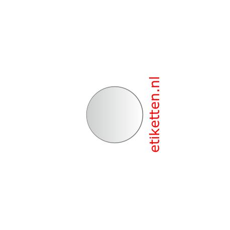 30 mm Rond Glashelder 2.000 per rol