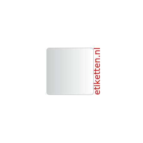 40 x 40 mm Glashelder 1.000 per rol