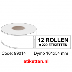 99014 Dymo Labels 101x54 mm