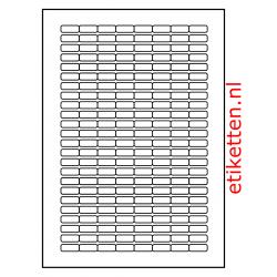 21 x 9 mm 100 vellen per doos 192 etiketten per vel PMV