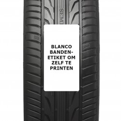 ROLLEN etiketten autobanden 80x150 mm BLANCO  500 per rol kern: 40 mm TYRE Label